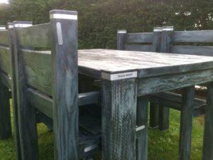 Kunstof tuinstoel box designtuinmeubels tuinstoelen