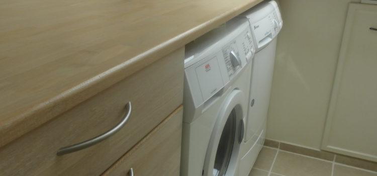 Goed gebruik van wasruimte